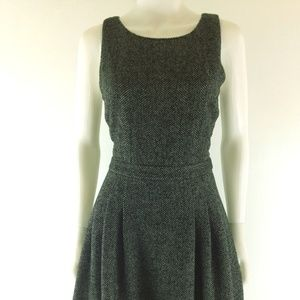 Banana Republic Womens Herringbone Print Dress